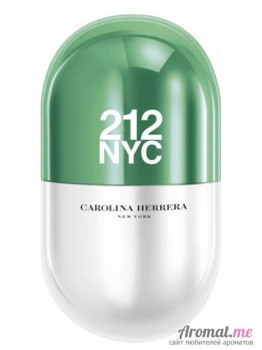 Аромат Carolina Herrera 212 NYC Pills